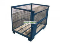 Gitterbox afm. uitw. 115 x 95 x 95 cm gebruikt