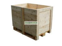 Kist gebouwd op europallet