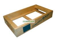Kist geschikt voor etaleren van stenen of tegels (monsterkist)