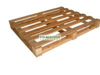 Pallet 120×100 cm 4 weg, middel zwaar, kruisdek, gebruikt
