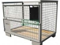 gitterbox 120x80 cm UIC norm 435-3 nieuw